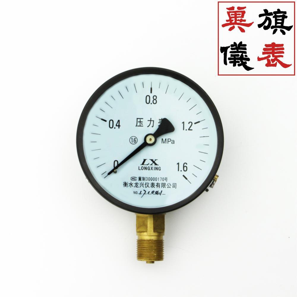 Y-100压力表